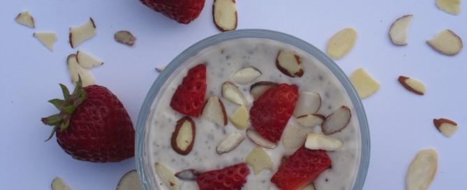 Chia vanilla pudding is everyone's favourite dessert.