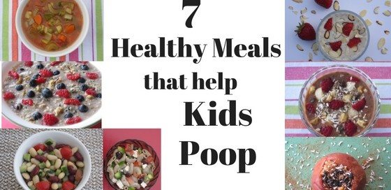 7 healthy meals that help children poop