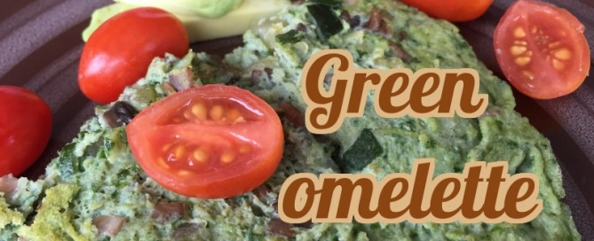 Green omelette for any day of the year.