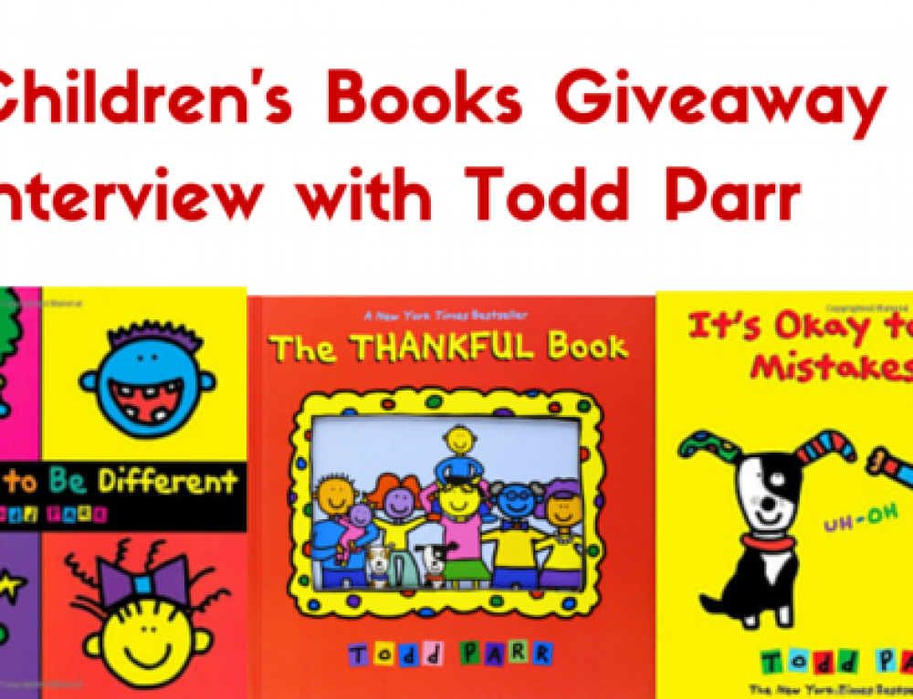 Interview and Giveaway with Todd Parr, Children Book Author