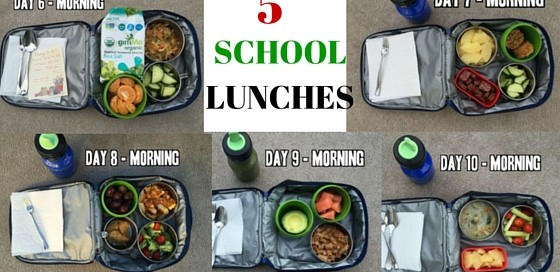 5 gluten-free and dairy-free school lucnh ideas