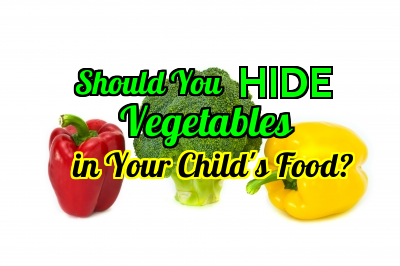 Hide vegetables in your child's food?