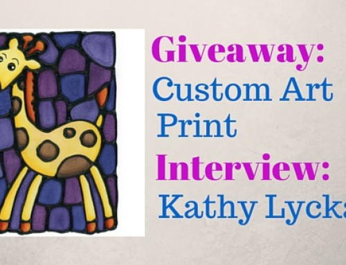Interview and giveaway with Kathy Lycka, Calgary-based artist
