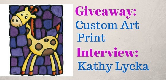 Custom art print giveaway