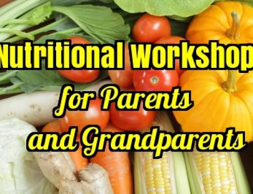 Nutritional Workshop for Parents and Grandparents