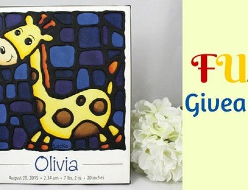 Giveaway with Kathy Lycka, Creator of Whimsical Art for Kids