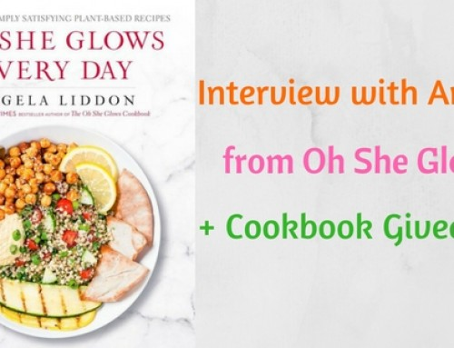Interview with Angela from Oh She Glows and Cookbook Giveaway