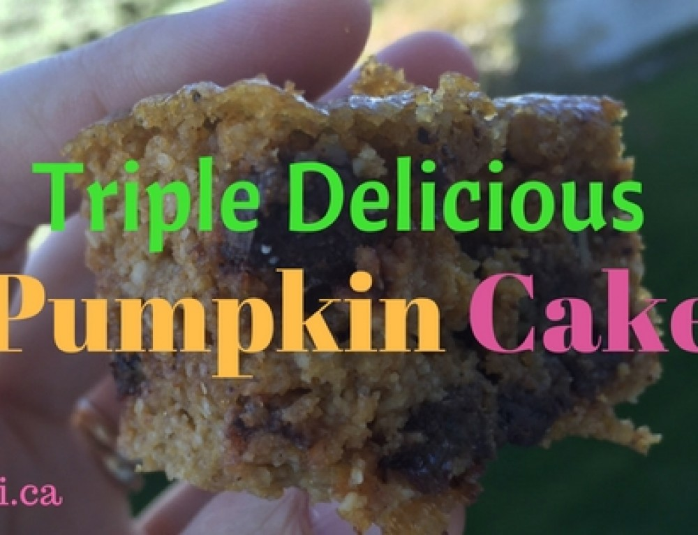 Tasty Tuesday: Triple Delicious Pumpkin Cake