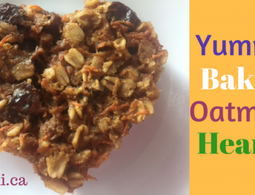 Tasty Tuesday: Yummy Baked Carrot Oatmeal Hearts for Valentine's Day