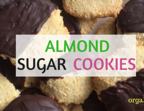 Tasty Tuesday: Cookies! Almond Sugar Cookies!