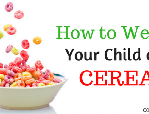 How to Wean your Child Off Sugary Cereal